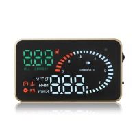 X6 Head Up Display KM/h MPH Over Speeding Warning OBD II Inteface HUD Car styling Alarm System