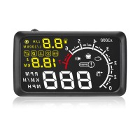 X3 5.5 inch Car HUD Head Up Display Car Styling Speeding Warning System 12V OBD II OBD2 Interface KM/H