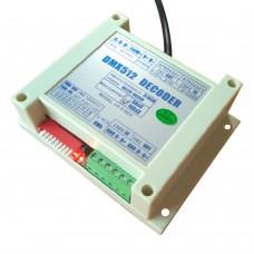 DMX512 Decoder RGB 5050 Light LED DMX Digital Driver 3 Channels 3x10A Output PAR Light Controller