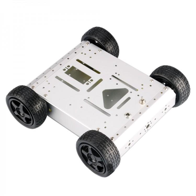 4WD Robot Smart Car Chassis Kits Metal Car Platform For Arduino