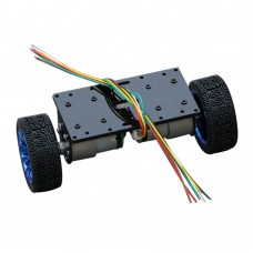 Self-Balancing 2WD Car Platform Smart Motor Car Chassis Balance Base w/ 37GB520 Motor