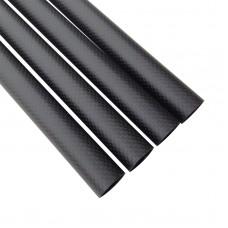 4pcs Roll Wrapped Carbon Fiber Tube 3K 10mm*12mm*500mm for Multirotor DIY