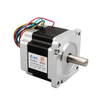 86BYGH450A Stepper Motor 4-Phase 14mm Shaft Diameter Optical Axis for CNC Engraving Machine