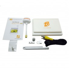 4.3 inch Monitor HD Display Built-in 5.8G 32CH Receiver with Mushroom Antenna for FPV Multicopter