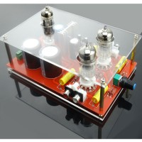 6N3/GE5670 Rectifier Hifi Tube Amplifier Pre-AMP Preamplifier with Toroidal Transformer 110-220V