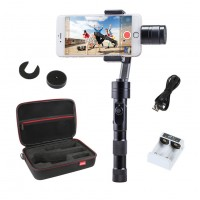 Zhiyun Z1 Smooth-C Brushless Handheld Smartphone Gimbal Handle Stabilizer w/Bag Charger