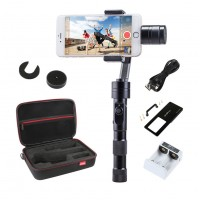 Zhiyun Z1 Smooth-C Brushless Handheld Smartphone Gimbal Handle Stabilizer w/Bag Gopro Adapter Plate