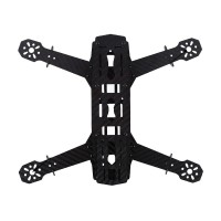 Mini 250 4-Axis Carbon Fiber Quadcopter Frame Kit 3mm Arm for 250 C250 FPV UAV Multicopter