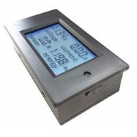 DC 6.5-100V 100A 4 IN1 Digital Display LCD Screen Voltage Current Power Energy Voltmeter Ammeter Multimeter w/Diverter