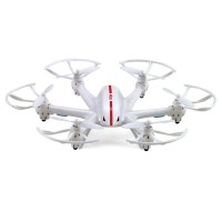 MJX X800 2.4G 135mm 6-Axis Hexacopter Aircraft 4 Channels Helicopter RC Drone w/Remote Control for FPV-White