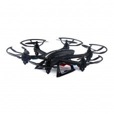 MJX X800 2.4G 135mm 6-Axis Hexacopter Aircraft 4 Channels Helicopter RC Drone w/Remote Control for FPV-Black