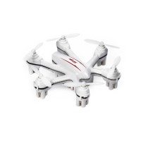 MJX X901 2.4G 4CH 6-Axis Gyro RC Helicopter Hexacopter w/Remote Control Mini Drone 3D Roll-White