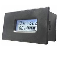 PZEM-005 Digital Lithium Battery Tester LCD Meter Voltage Current Electric Quantity Meter 18650 18350 26650 Battery Measurement
