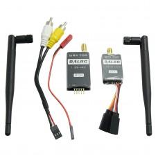 DALRC QTX700 QRX700 1.2G 700mW 8CH Audio Video AV Transmitter Tx & QRX700 Receiver Rx for FPV