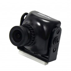 FOXEER XAT600M HS1177 600TVL CCD Camera Mini FPV Cam with 2.8mm Lens Plastic Case for Aerial Photography-Black