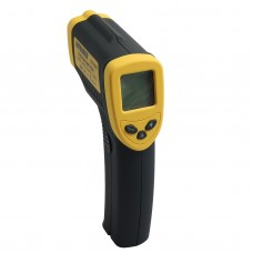 DT8380 LCD Digital -50 to 380 Degree Non-Contact Industrial Pyrometer Laser IR Point Infrared Temperature Thermometer Tester Gun