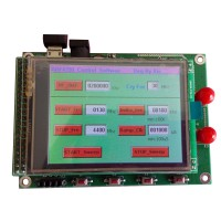ADF4350 Module TFT Color Touch Screen STM32 Sweep Frequency Signal Source RF Signal Generator