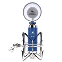 ISK AT500 Dual Channel Studio Condenser Microphone Network Karaoke Singing Audio Mic-Blue