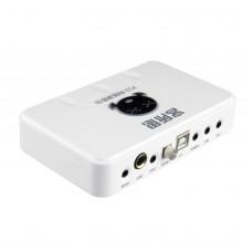 XOX P10 External USB Sound Card Audio Card for Notebook Computer DJ Laptop Karaoke