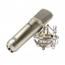 AIX RS-9A Transistor Condenser Microphone 20Hz-20KHz Audio Mic for Recording Karaoke