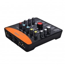 ICON Upod Pro Sound Card 2 Mic-In/1 Guitar-In 2-Out USB Recording Interface DSP Parameter Adjustment Knobs 6 Operating Modes