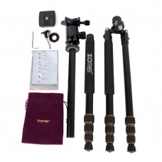 Aluminum Professional Tripod Monopod + Ball Head Gimbal for DSLR Camera Portable Cam stand