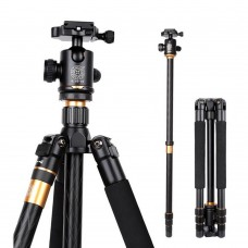 QZSD Q999 Tripod Monopod + Ball Head Gimbal PTZ for Photography DSLR Camera