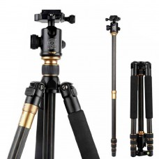 QZSD Q999C Carbon Fiber Tripod Monopod Ball Head Gimbal for SLR Camera Photography