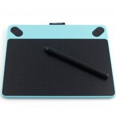 Wacom CTL490 Intuos Digital Tablet Graphics Drawing Tablet Signature Painting writing Board Pad-Blue