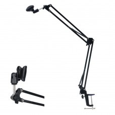 Mic Recording Folding Bracket Microphone Cantilever Stand Holder for Studio Broadcast