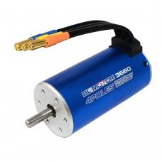 BL3665 3Y 2100KV 1400W 4 Poles Sensorless Brushless Motor for 1/16 1/18 RC Car