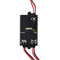 Mini CMP-03 3A 6V ST Solar Charge Controller 8hours PV Battery Charge Regulator