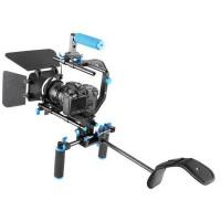 YELANGU D102 Camera Rig Shoulder Mount Stabilizer for DSLR Video Camera DV