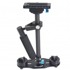 YELANGU S40T Small Steadicam Handheld Stabilizer 360 Degree All-Round Stability Shooting for DSLR Camera SLR DV