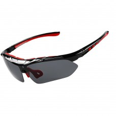 Professional Cycling Sunglasses Set Outdoor Polarized Bicycle Glasses Sports Eyewear 5 Lens Set XQ082-1