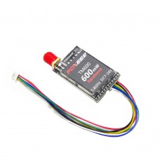 Foxeer TM600 5.8G 40CH Race Band 600mW Wireless Audio Video A/V Transmitter TX for Racing Multicopter