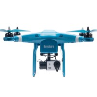 Keyshare Glint Play+ 2.4G RC 4-Axis Drone Quadcopter with 1080P Camera Remote Controller for FPV-Blue