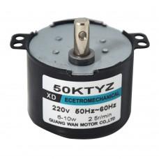 XD 50KTYZ AC220V 10W 2.5 5 10 15 30 50RPM Permanent Magnet Synchronous Gear Motor