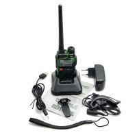 BaoFeng UV-3R Dual Band Transceiver Two Way Radio UHF136-174MHz VHF400-470MHz Walkie Talkie
