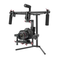 3-Axis Handheld Gyroscope 32 Bit Brushless Gimbal PTZ Stabilizer Handle Camera Mount for DSLR 5D2 5D3 A7 GH4 6D 7D