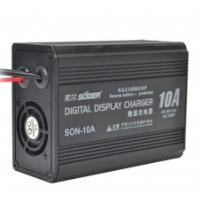 SUOER SON-10A DC6V 12V Battery Charger Digital Display Charger for Car Automobile