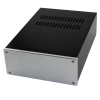 WA36 Aluminum Power Amplifier Enclosure Box Shell DAC Case 308x218x92mm