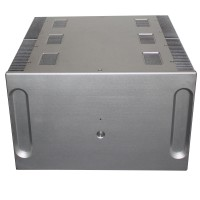 WA33 Aluminum Power Amplifier Enclosure Box Shell Cooling Case 410x400x250mm