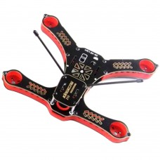 Kingkong 210 Sandwich Kit 4-Axis Racing Quadcopter Frame with 5V/12V PDB for FPV-Red
