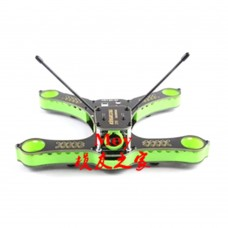 Kingkong 210 Sandwich Kit 4-Axis Racing Quadcopter Frame with 5V/12V PDB for FPV-Green