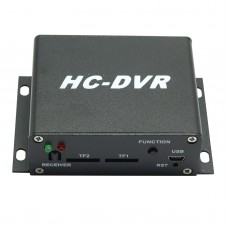 HC-DVR Dual Card 128GB Large Storage TF SD Card Mini DVR 1CH Video+1CH Audio H.264 HDMI USB CCTV Camera Video Recorder