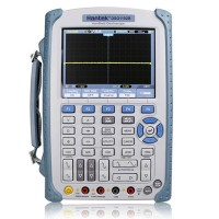 Hantek DSO1202S Digital Multimeter Oscilloscope USB 2CH 200MHz LCD Display Handheld PC Based Logic Analyzer