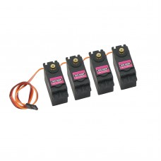 4x MG996R 55g Metal Gear Torque Digital Servo15KG for RC Helicopter Airplane Car Robot