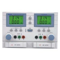 Hantek HT3003PF DC Power Supply 2 Channels Adjustable Power Supply 0-30V 0-3A LCD Display