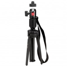 Kingjue KT-200 KT200 Lightweight Mini Aluminum Desktop Tripod for Camera Phone with BD-1 BallHead